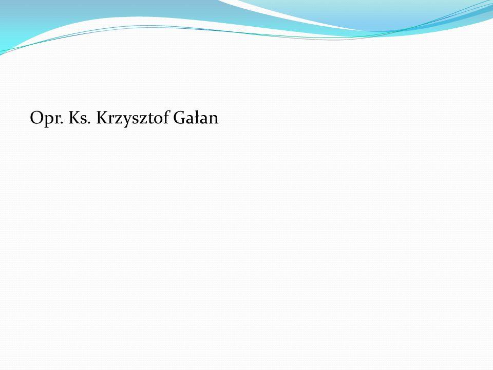 Opr. Ks. Krzysztof Gałan