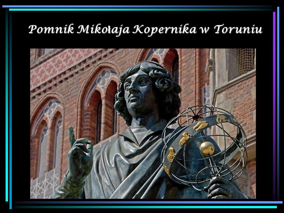 Pomnik Miko ł aja Kopernika w Toruniu