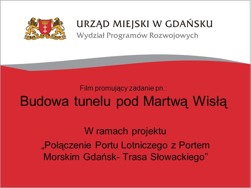 """Inaczej o inwestycji Przedstawiamy udźwiękowiony film animowany będący elementem kampanii promocyjnej projektu dofinansowanego z Funduszu Spójności w ramach Programu Operacyjnego Infrastruktura i Środowisko pn.: """"Połączenie Portu Lotniczego z Portem Morskim Gdańsk- Budowa Trasy Słowackiego"""
