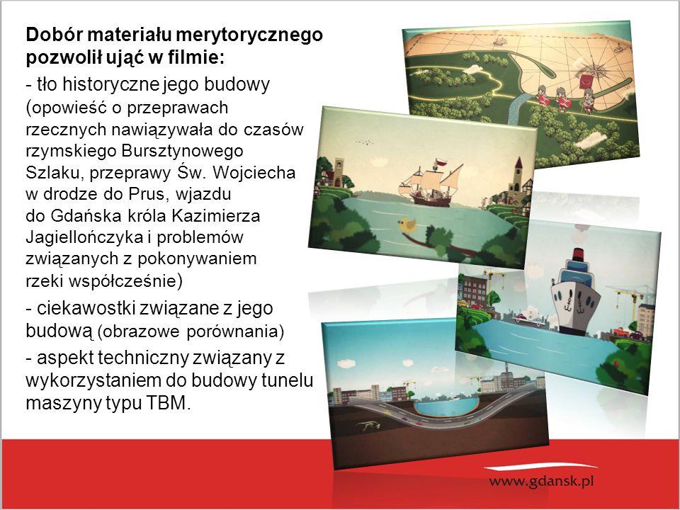 Uroczystości chrztu maszyny TBM, której nadano imię Damroka i rozpoczęcia wiercenia pierwszej nitki tunelu pod Martwą Wisłą w maju 2013 roku.