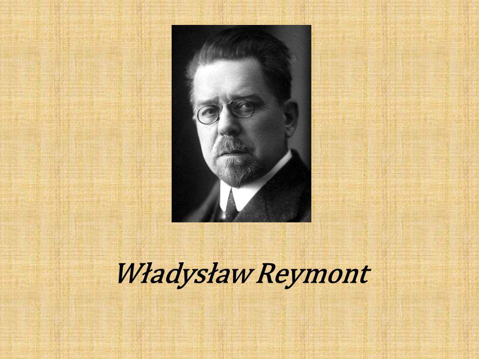 Władysław Stanisław Reymont, właśc.Stanisław Władysław Rejment Ur.