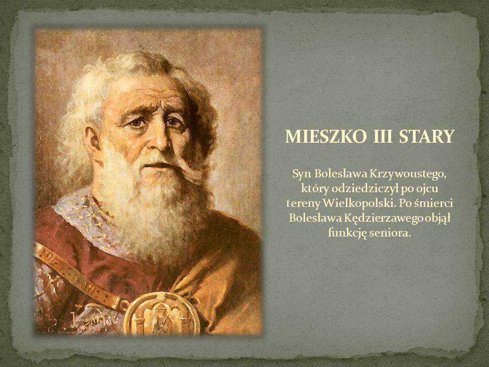 Syn Bolesława Krzywoustego, który odziedziczył po ojcu tereny Wielkopolski. Po śmierci Bolesława Kędzierzawego objął funkcję seniora.
