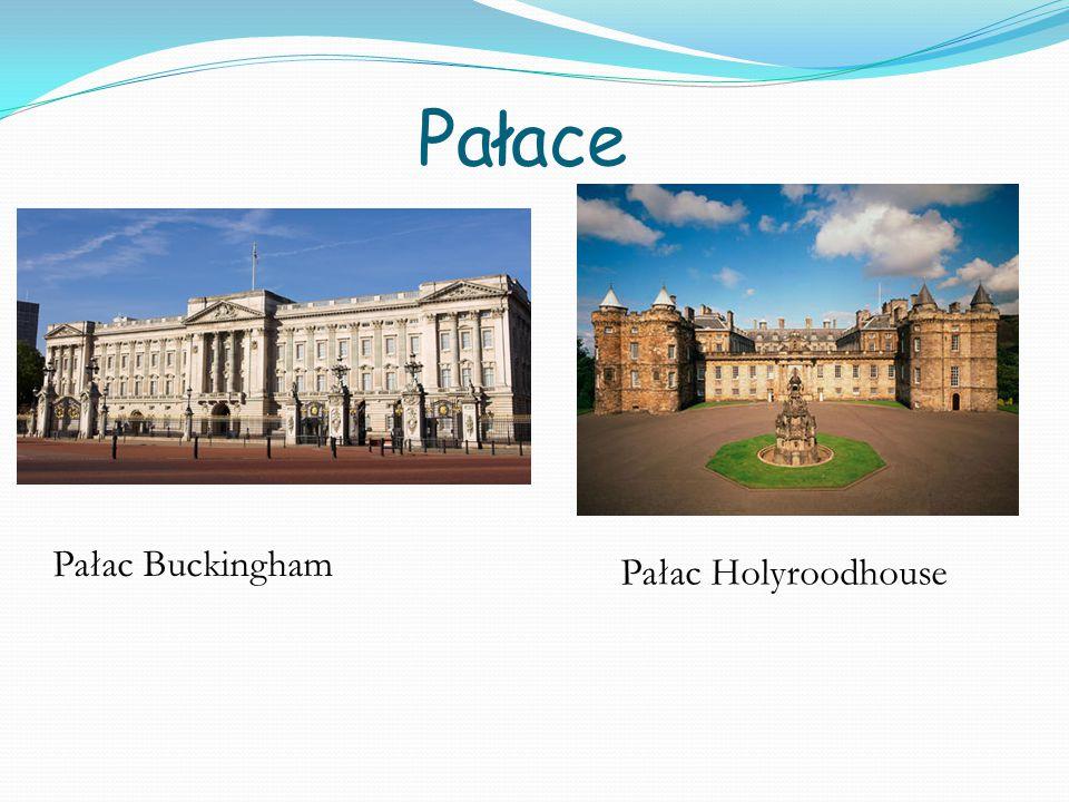 Pałace Pałac Buckingham Pałac Holyroodhouse