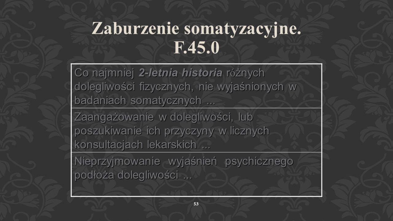 ZABURZENIE SOMATOPODOBNE 52