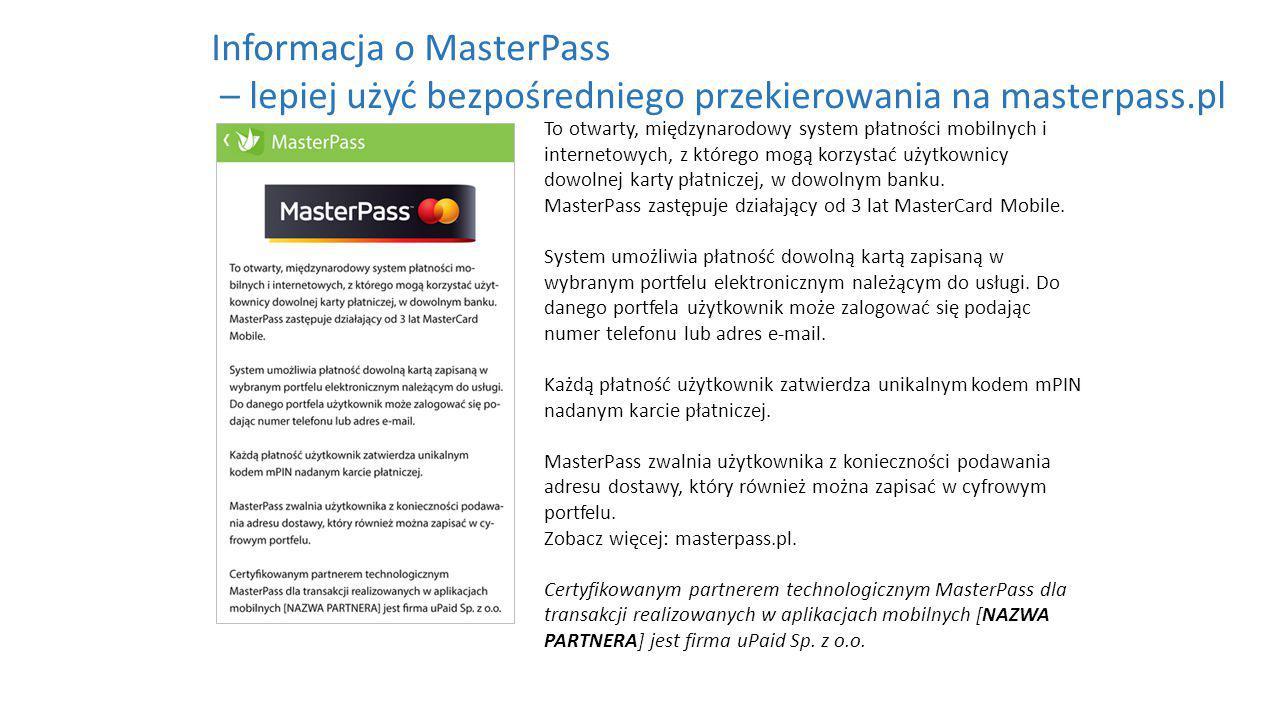 To otwarty, międzynarodowy system płatności mobilnych i internetowych, z którego mogą korzystać użytkownicy dowolnej karty płatniczej, w dowolnym banku.