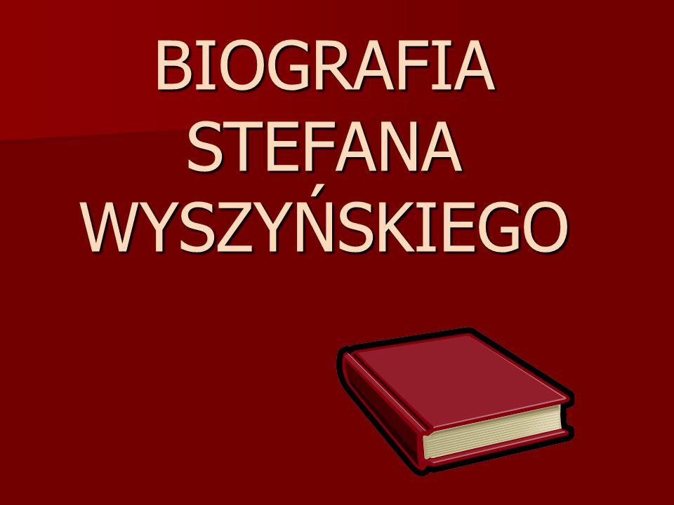 Młode lata Stefana Wyszyńskiego Kardynał Stefan Wyszyński (1901 – 1981) urodził się 3 sierpnia w miejscowości Zuzela nad Bugiem, na pograniczu Podlasia i Mazowsza.