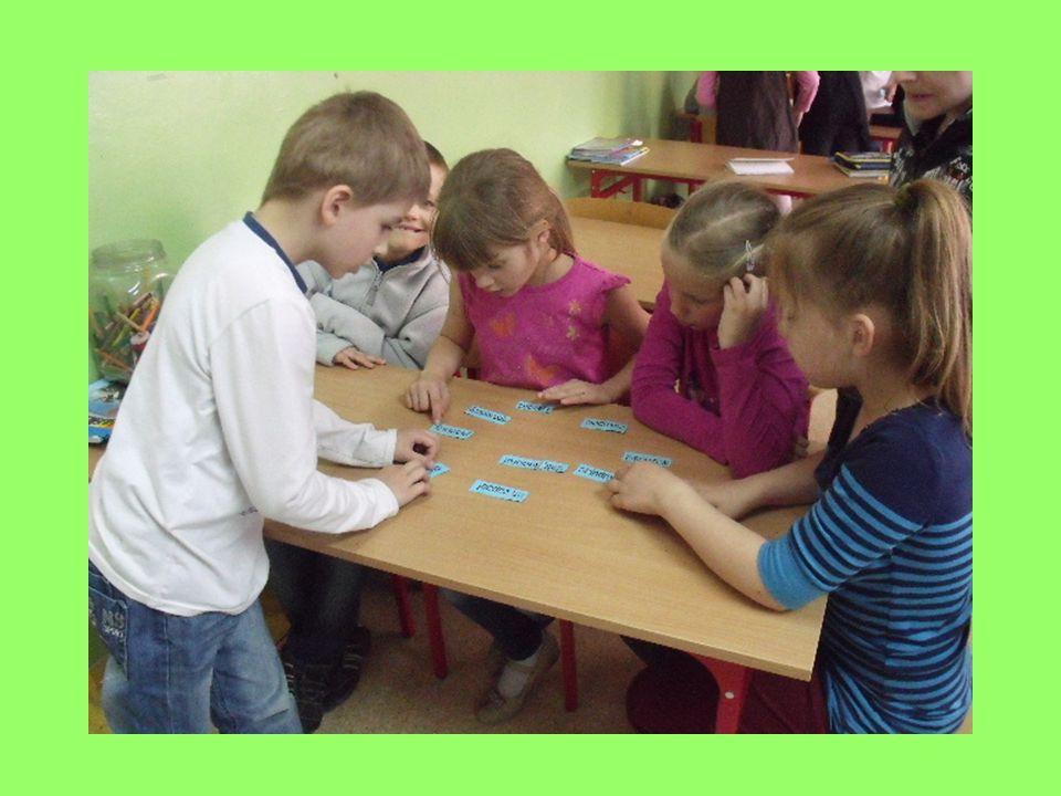 Poprzez metody aktywizujące dzieci uczyły się obliczeń pieniężnych