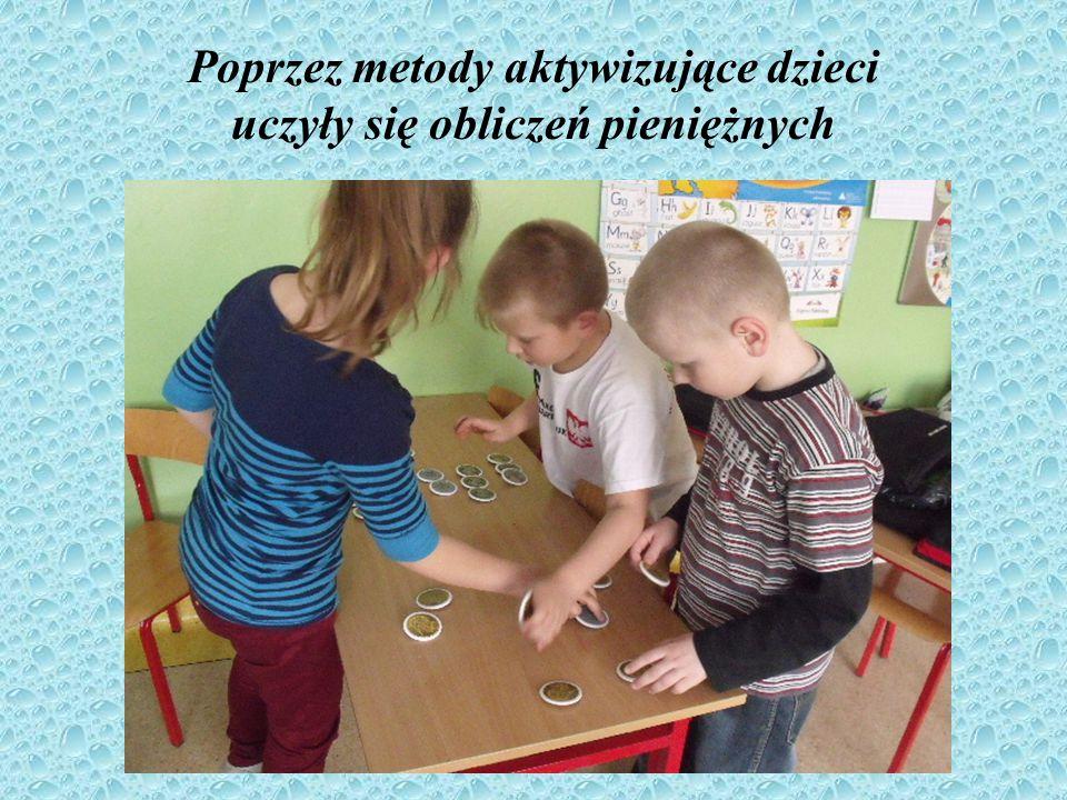 Prace dzieci Postać Grosika była inspiracją do wykonywania prac plastycznych.