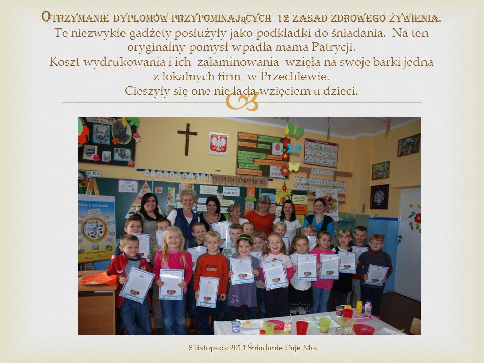 """ P ogadanka w kr ę gu była dla dzieci źródłem elementarnej wiedzy na temat """" Ś wiata zdrowej energii ."""