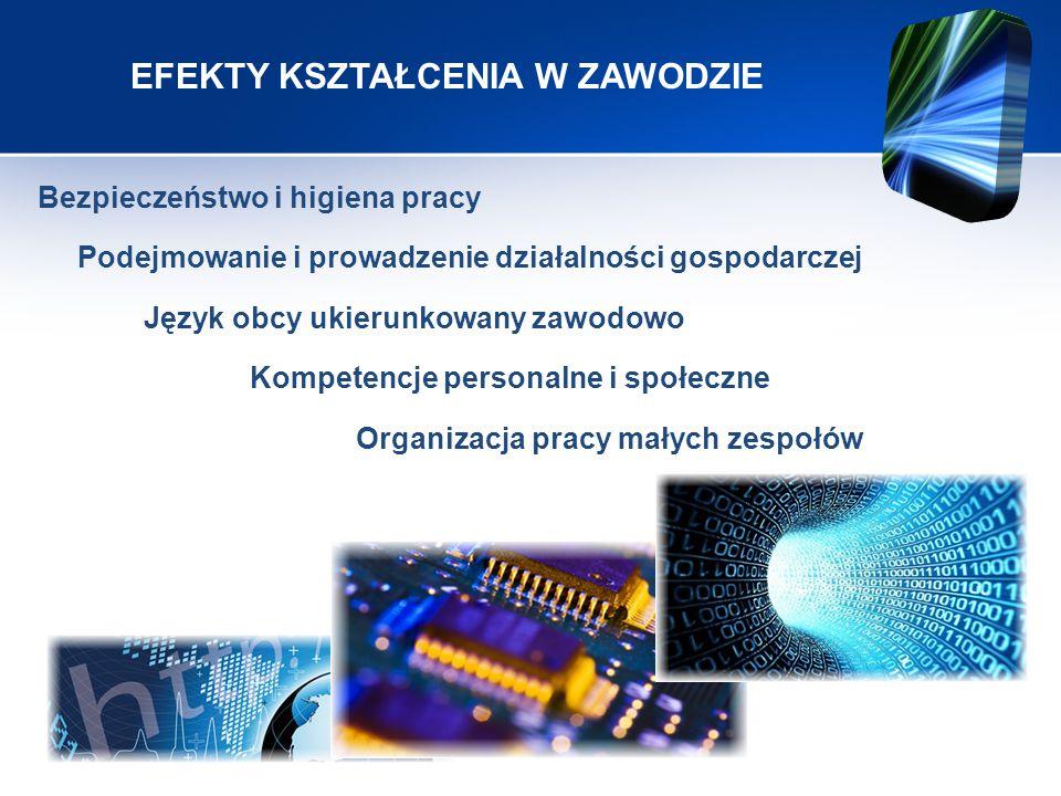 E.12 - Montaż i eksploatacja komputerów osobistych oraz urządzeń peryferyjnych 1.