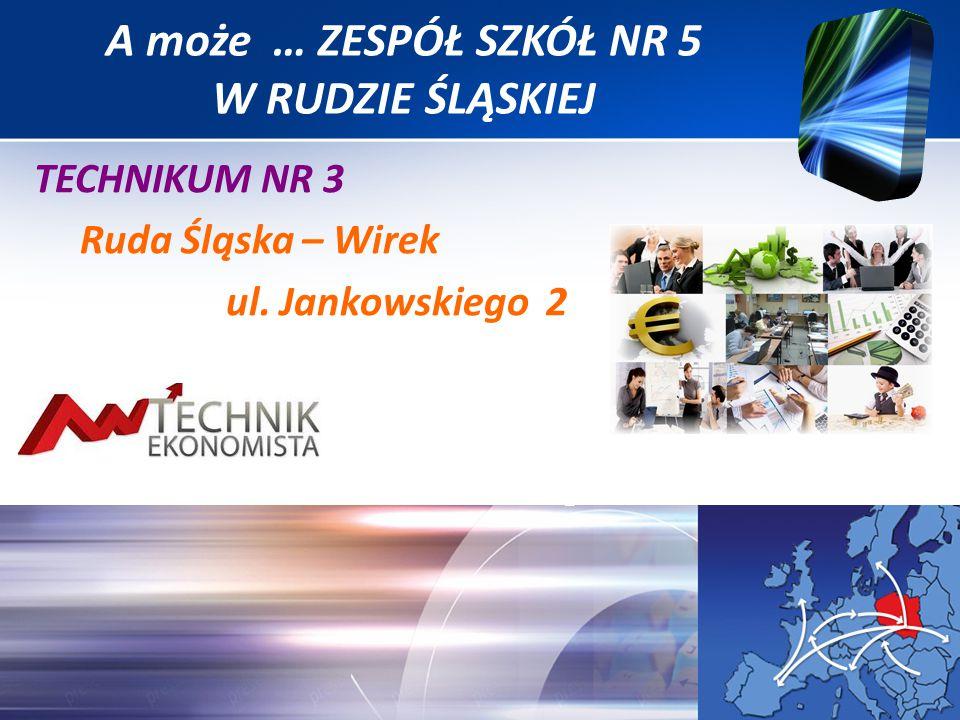TECHNIKUM NR 3 Ruda Śląska – Wirek ul. Jankowskiego 2 A może … ZESPÓŁ SZKÓŁ NR 5 W RUDZIE ŚLĄSKIEJ