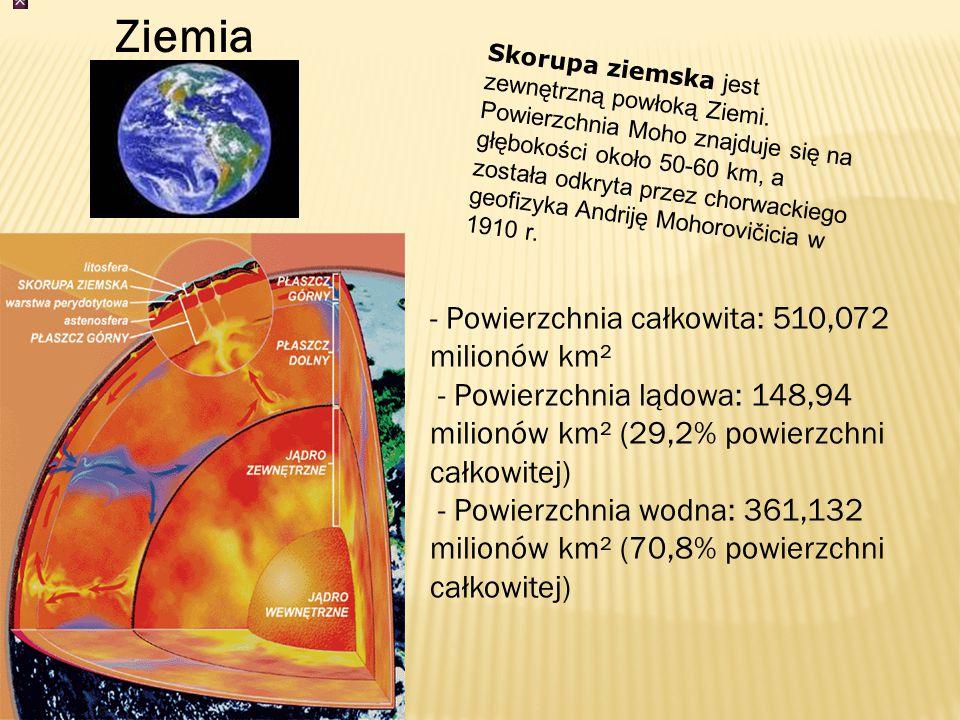 Półoś wielka 384 400 km (0,0026 j.a.)kmj.a.