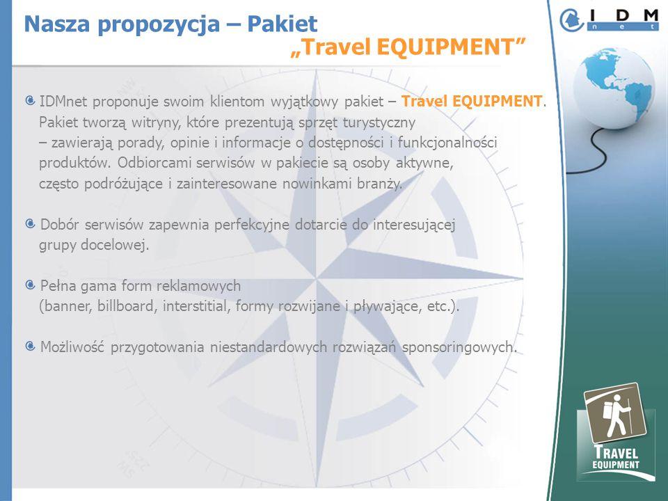IDMnet proponuje swoim klientom wyjątkowy pakiet – Travel EQUIPMENT.