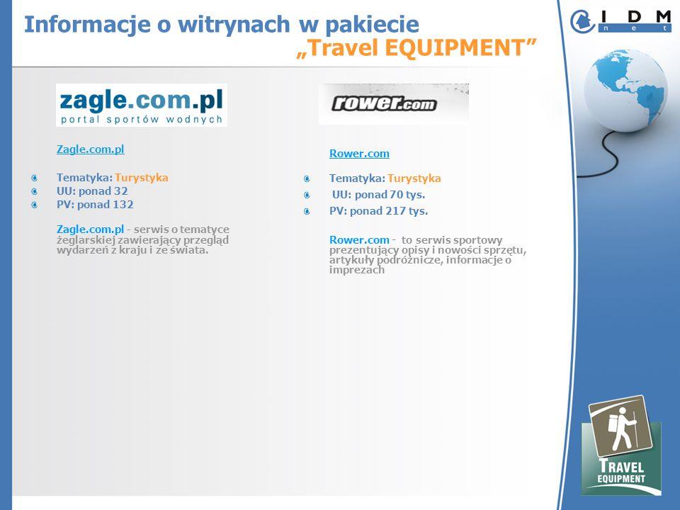 Zagle.com.pl Tematyka: Turystyka UU: ponad 32 PV: ponad 132 Zagle.com.pl - serwis o tematyce żeglarskiej zawierający przegląd wydarzeń z kraju i ze świata.