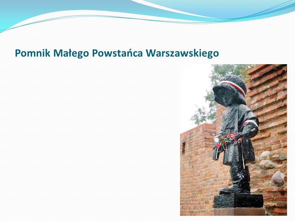 Pomnik Małego Powstańca Warszawskiego