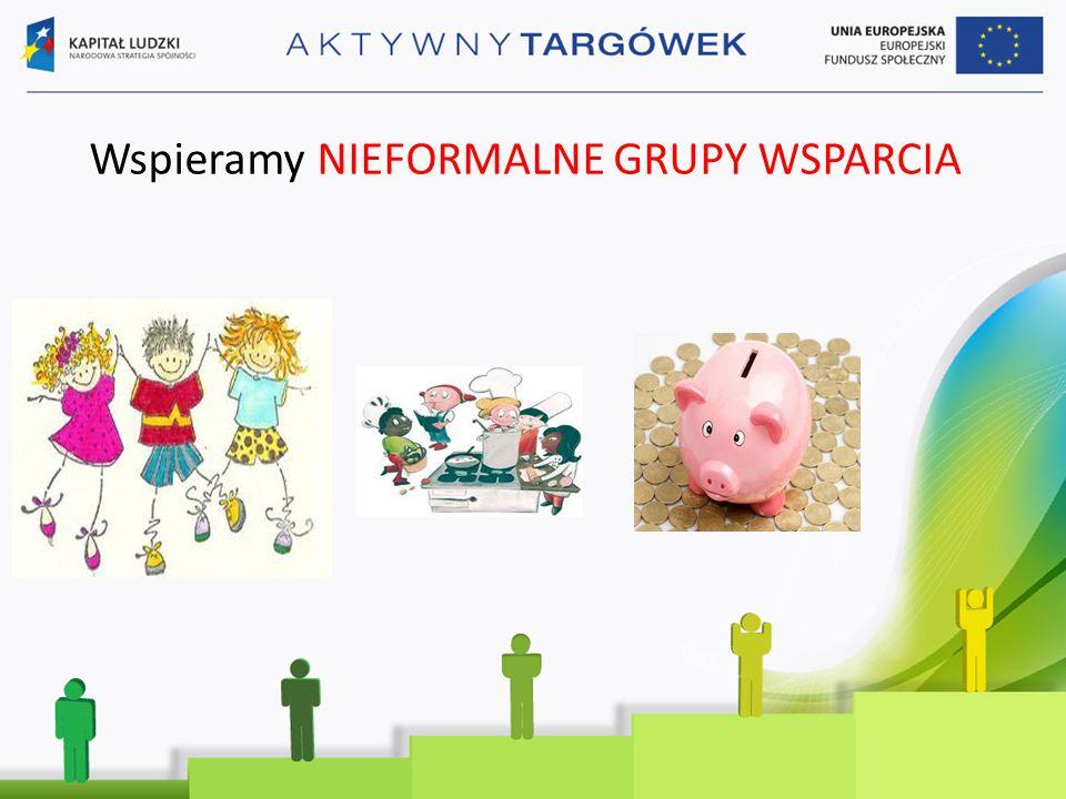 Wspieramy NIEFORMALNE GRUPY WSPARCIA