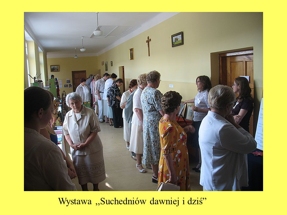 """Wystawa,,Suchedniów dawniej i dziś"""""""