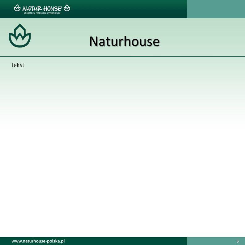 5 Naturhouse Tekst