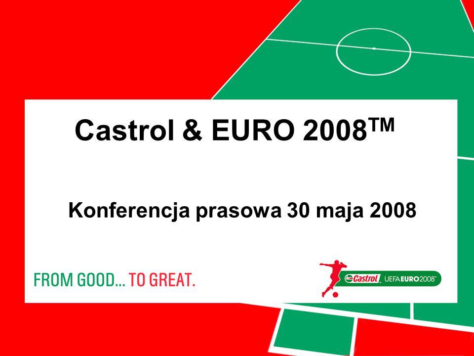 Castrol & EURO 2008 TM Konferencja prasowa 30 maja 2008
