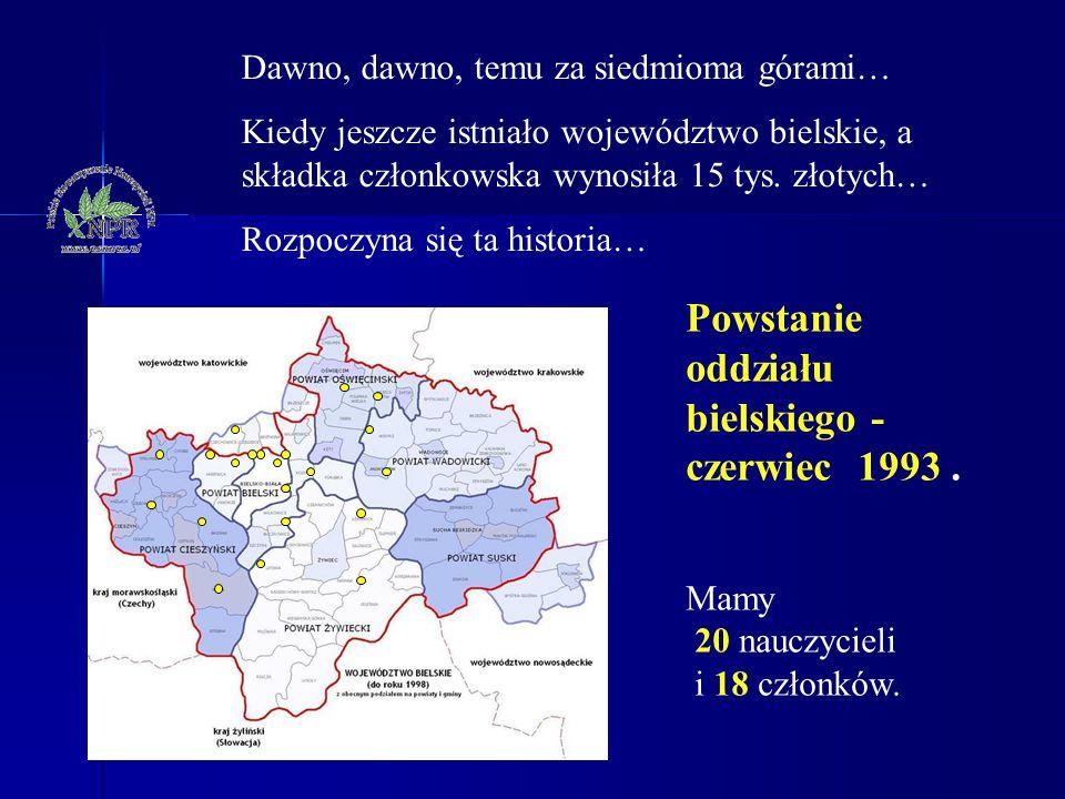Dawno, dawno, temu za siedmioma górami… Kiedy jeszcze istniało województwo bielskie, a składka członkowska wynosiła 15 tys. złotych… Rozpoczyna się ta