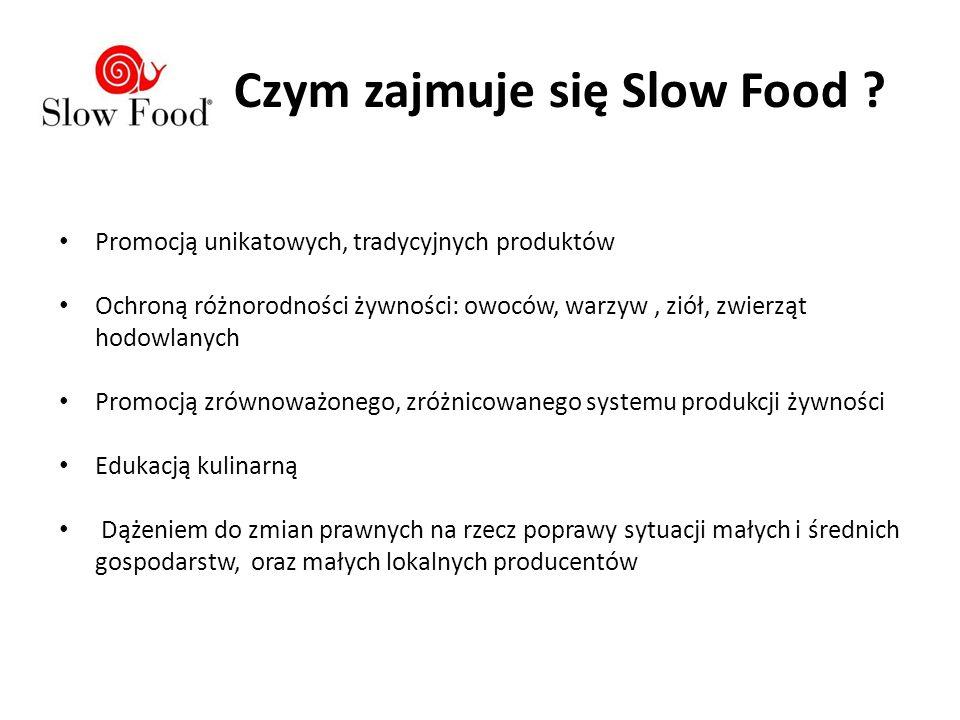 W 2012 r.powstał młodzieżowy oddział Slow Foodu ;-) działa z nami m.in.