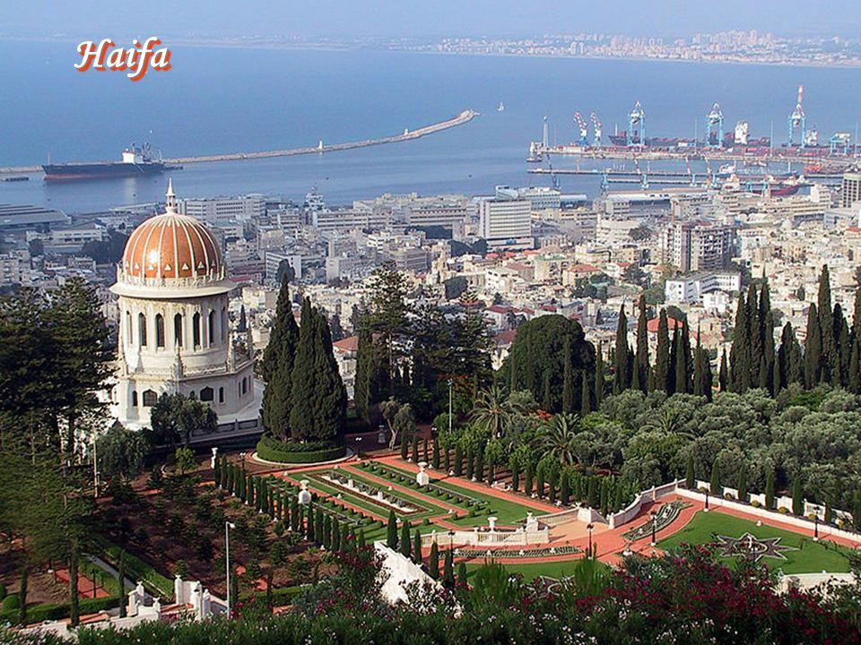 Haifa - centrum Bahaizmu