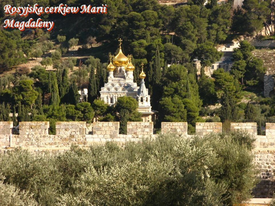 Rosyjska cerkiew Marii Magdaleny