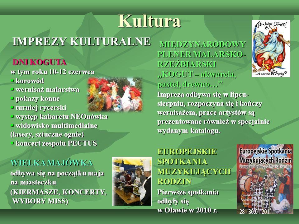 Kultura IMPREZY KULTURALNE IMPREZY KULTURALNE DNI KOGUTA w tym roku 10-12 czerwca DNI KOGUTA w tym roku 10-12 czerwca  korowód  wernisaż malarstwa 
