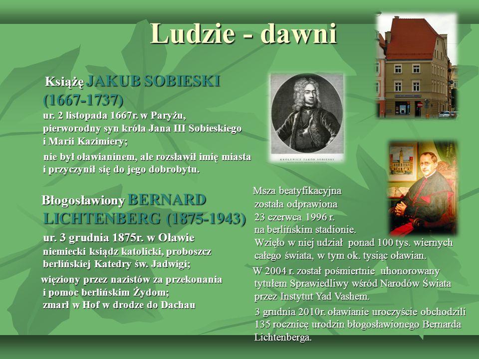 Ludzie - dawni Ludzie - dawni Książę JAKUB SOBIESKI (1667-1737) ur. 2 listopada 1667r. w Paryżu, pierworodny syn króla Jana III Sobieskiego i Marii Ka