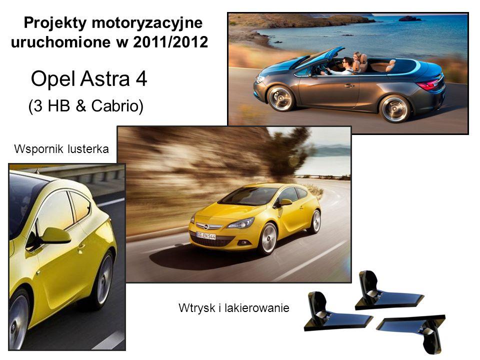Lusterko zewnętrzne Daewoo Lanos Vida (nazwa używana w Polsce: Chevrolet Aveo) Opcje lusterek: -do samochodu 4 - drzwiowego -do samochodu 5 - drzwiowego -z kierunkowskazem -bez kierunkowskazu -elektryczne -manualne -malowane -nie malowane -z funkcją podgrzewania -bez funkcji podgrzewania Projekty motoryzacyjne uruchomione w 2013