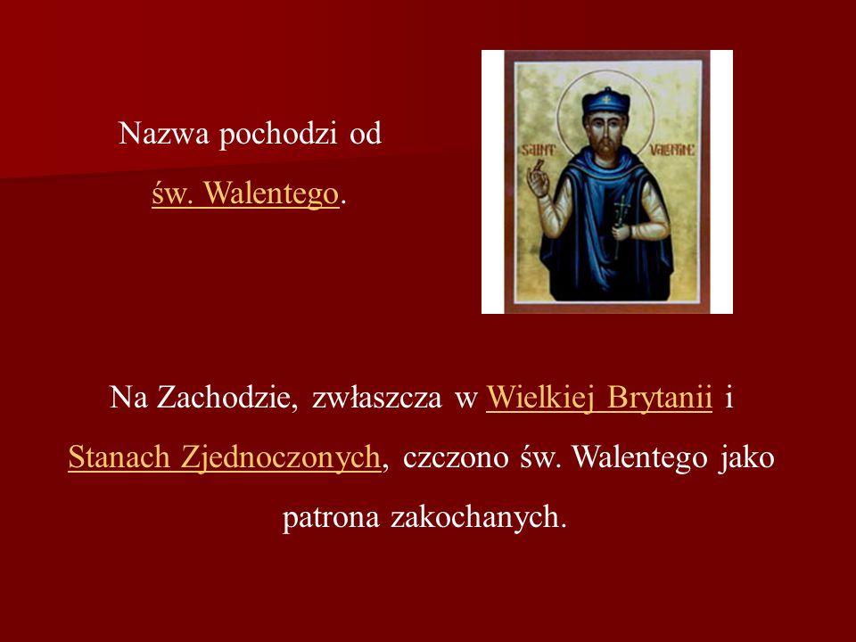 Do Polski obchody walentynkowePolski trafiły w latach 90.