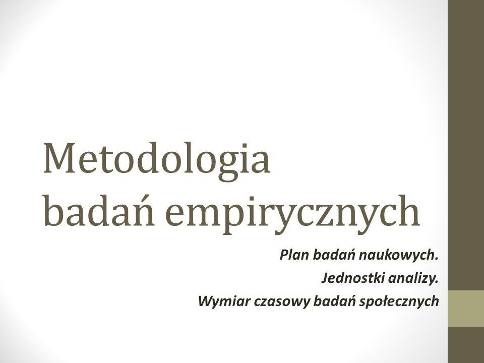 Głównymi celami (zadaniami badań) społecznych są: 1)Eksploracja, 2)Opis, 3)Wyjaśnienie.