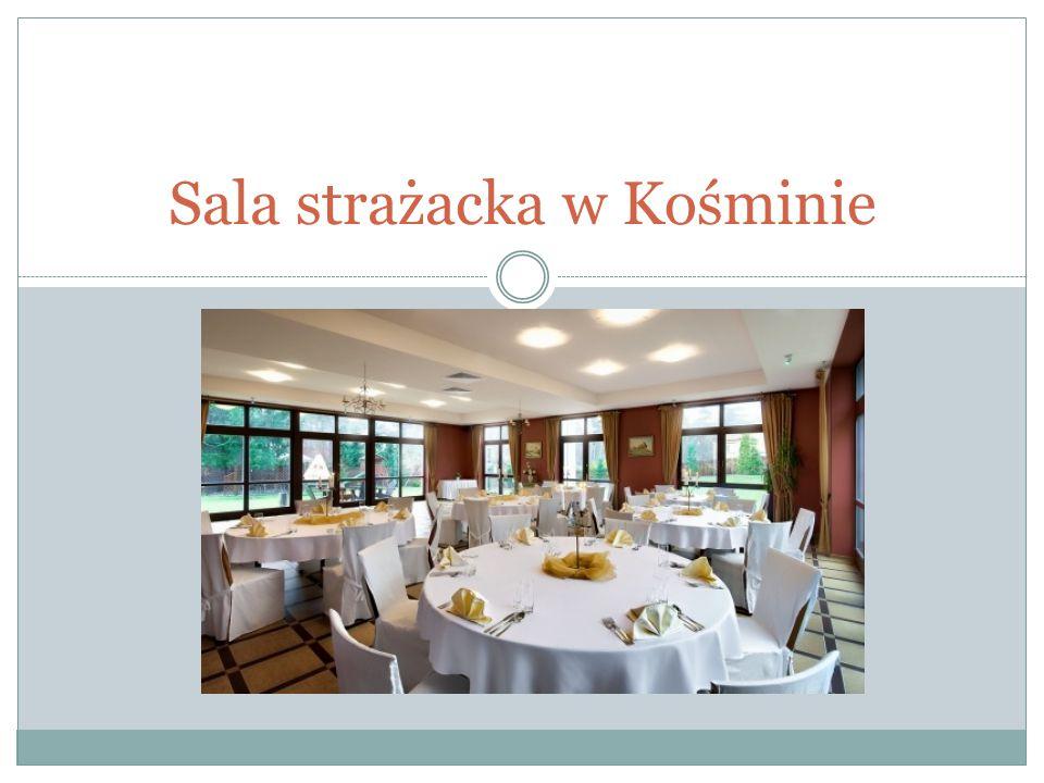 Sala strażacka w Kośminie