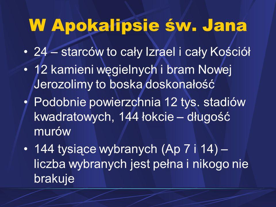 W Apokalipsie św.
