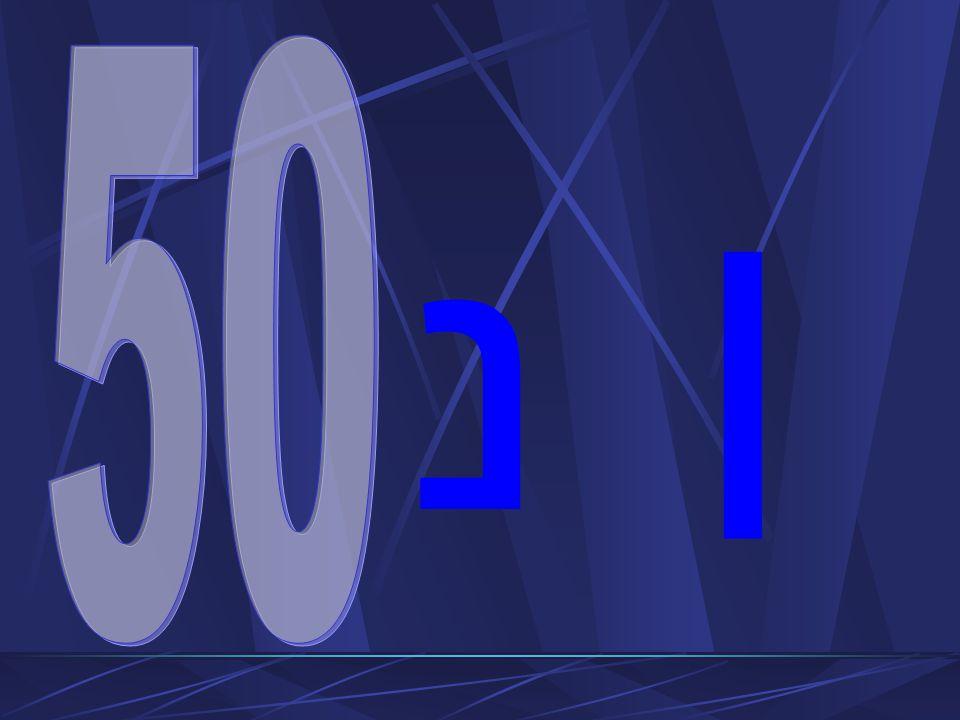 Liczba 50 Ma w Piśmie Świętym szczególnie radosny, pogodny charakter 50 dzień po święcie Paschy jest świętem zbiorów Każdy 50 rok jest rokiem jubileuszowym – wtedy zwracano wolność, ziemia wracała do pierwotnych właścicieli Zesłanie Ducha Świętego w 50 dniu po Zmartwychwstaniu Chrystusa