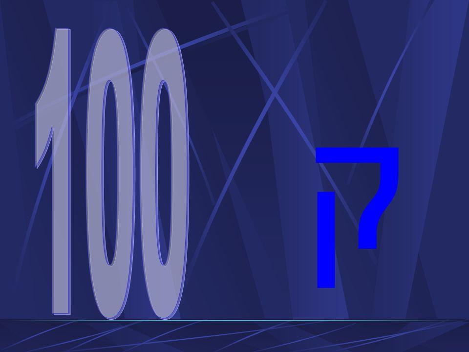 Liczba 100 – doskonałe dobro Liczba pełna i doskonała, obejmuje tajemnice całego rozumnego stworzenia Liczba święta, przynależna Bogu Dobry Pasterz zostawia 99 owiec, idzie szukać jednaj zabłąkanej Jako liczba świętych w Aktach Męczeńskich św.