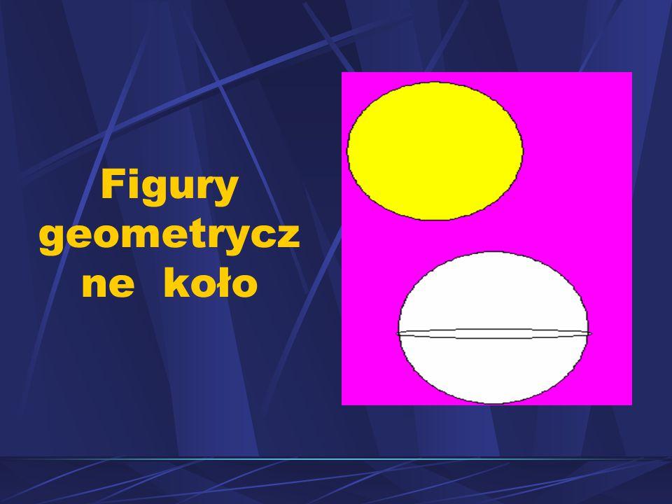 Figury geometrycz ne koło