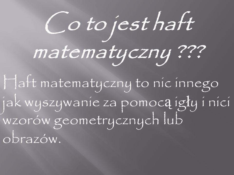 Co jest potrzebne do przygotowania kartki metod ą haftu matematycznego Trzeba mie ć zwyk łą kartk ę papieru (techniczn ą ), tekturk ę lub p ł ytk ę CD.