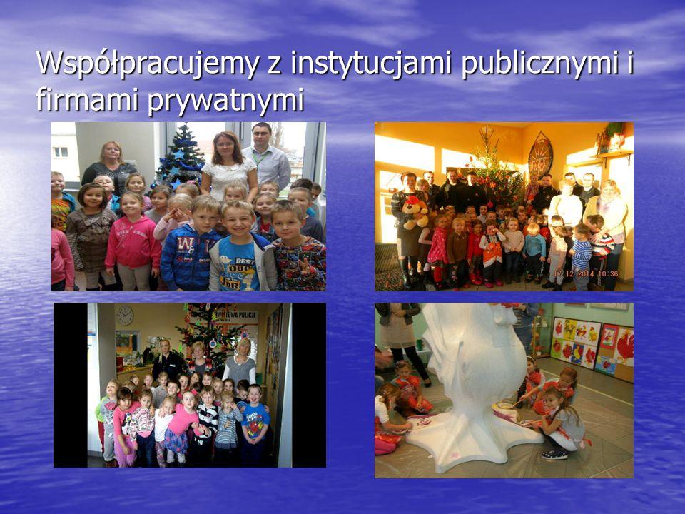 Współpracujemy z instytucjami publicznymi i firmami prywatnymi