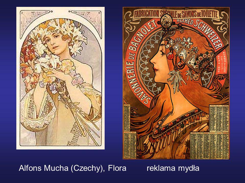Alfons Mucha (Czechy), Flora reklama mydła