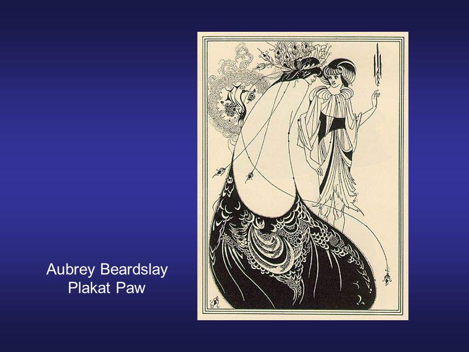 Aubrey Beardslay Plakat Paw