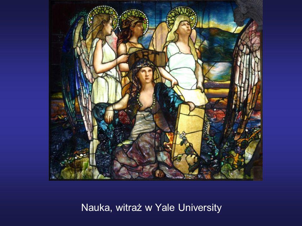 Nauka, witraż w Yale University