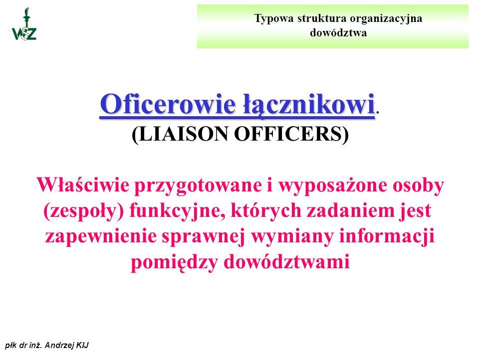 płk dr inż. Andrzej KIJ GRUPA SPECJALISTYCZNA GRUPA SPECJALISTYCZNA. (SPECIAL STAFF GROUP) Obejmuje ona komórki organizacyjne (i/lub osoby funkcyjne)