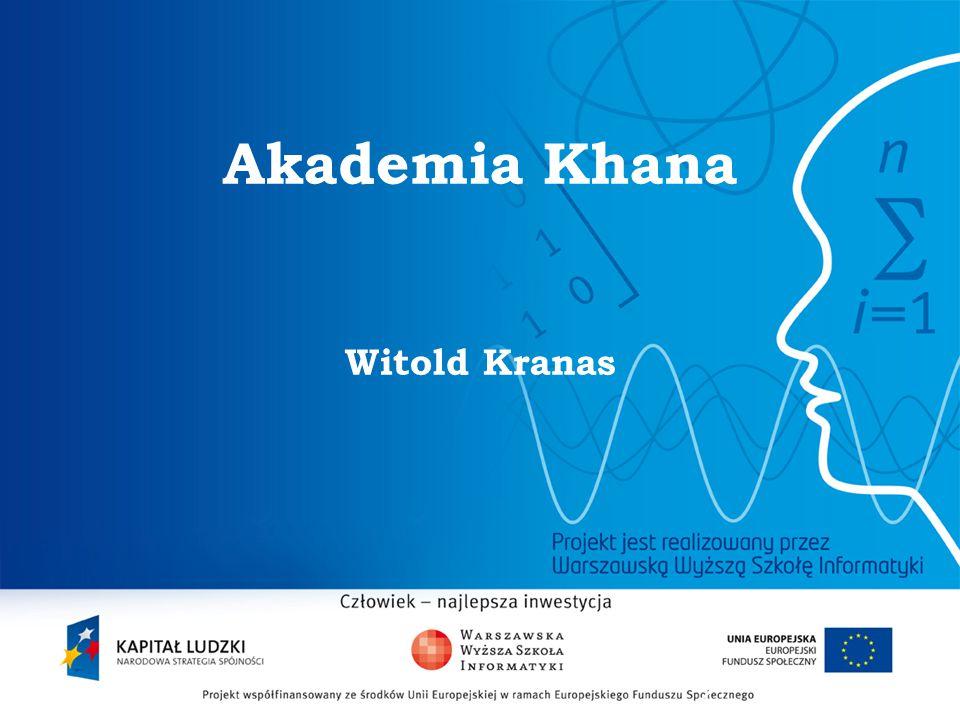 2 Akademia Khana Witold Kranas