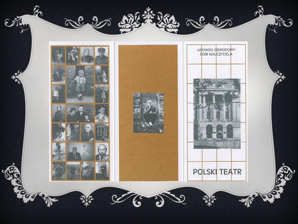 PIOTR HAUSVATER (1894-1966)  Założyciel Polskiego Teatru Ludowego we Lwowie.