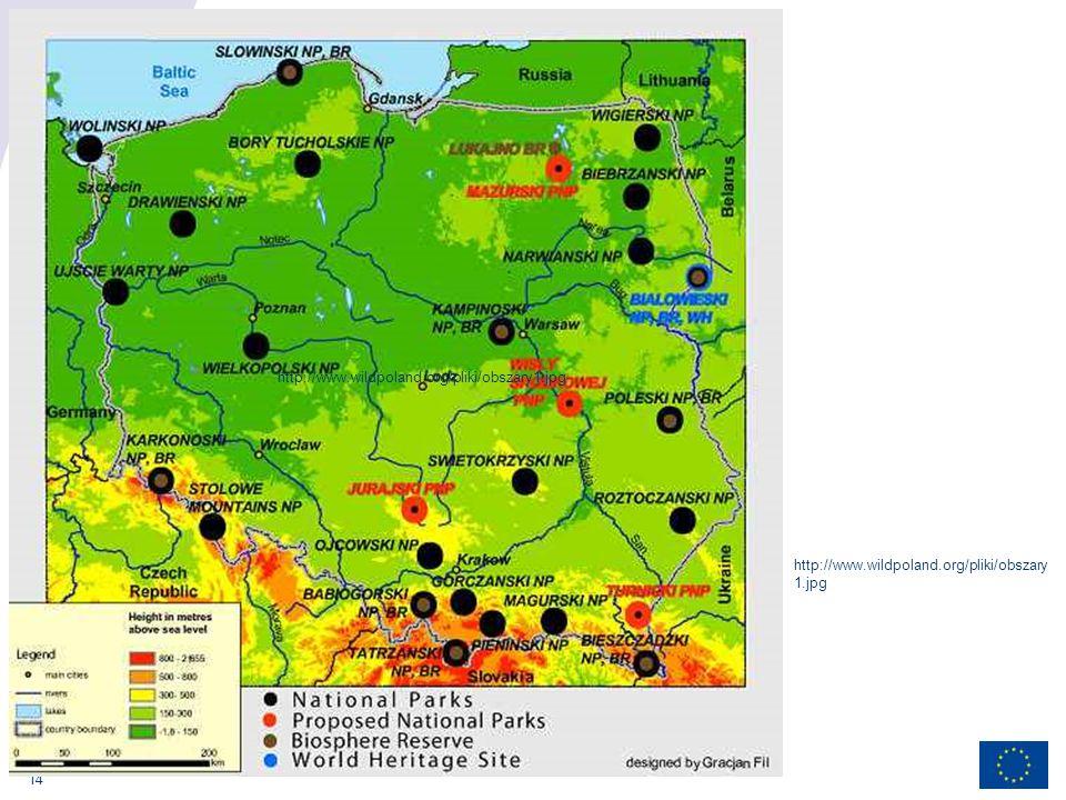 14 http://www.wildpoland.org/pliki/obszary1.jpg