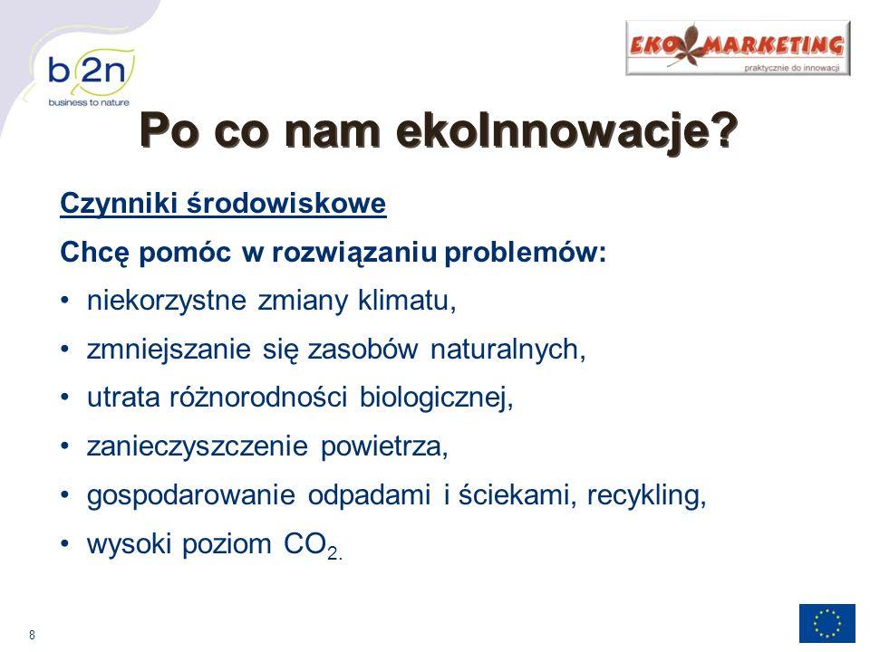 8 Po co nam ekoInnowacje.