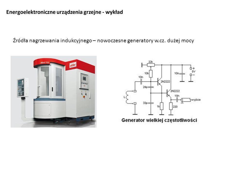 Źródła nagrzewania indukcyjnego – nowoczesne generatory w.cz. dużej mocy