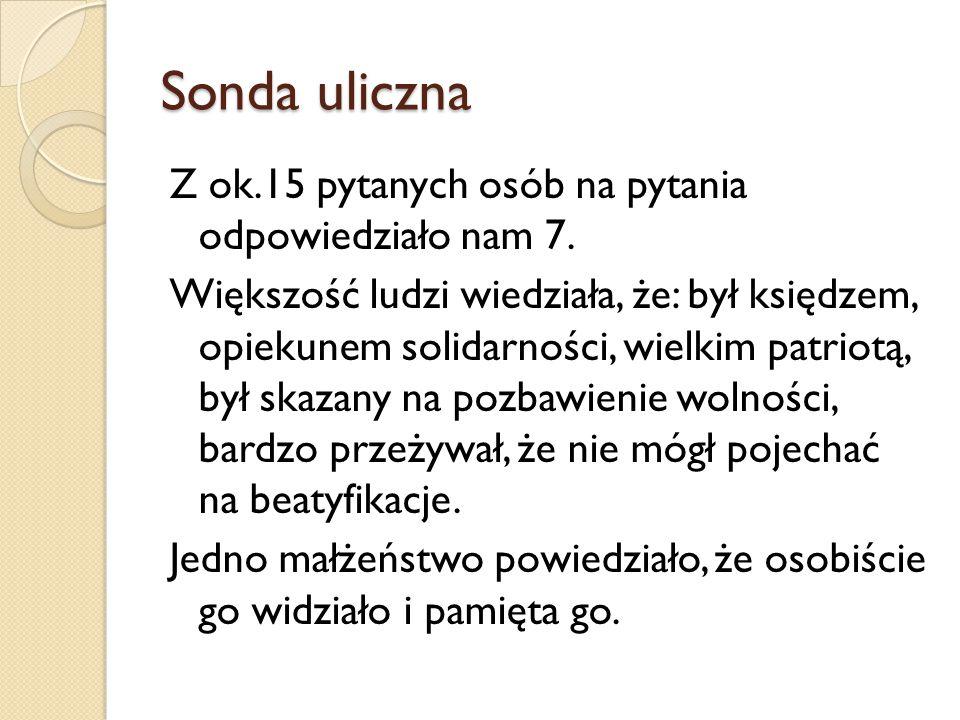 Źródła: Encyklopedia Solidarności (http://www.encyklopedia- solidarnosci.pl/wiki/index.php?title=Witold_Pietkun)http://www.encyklopedia- solidarnosci.pl/wiki/index.php?title=Witold_Pietkun Ulica, na której nie byłem (http://magazynkontakt.pl/ulica-na-ktorej-nie-bylem.html)http://magazynkontakt.pl/ulica-na-ktorej-nie-bylem.html Zapytaj.onet (http://zapytaj.onet.pl/Category/002,019/2,23735621,Ki m_byl_rotmistrz_Witold_Pilecki.html)http://zapytaj.onet.pl/Category/002,019/2,23735621,Ki m_byl_rotmistrz_Witold_Pilecki.html Zdjęcia pobrałyśmy z Google Grafika i z Wikipedii.