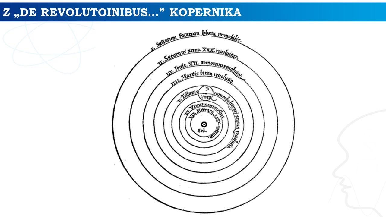 "Z ""DE REVOLUTOINIBUS…"" KOPERNIKA"